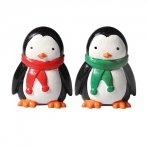 Plastic Penguin Friends Figurines - Set of 2