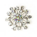 Diamante Brooch 32mm