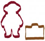 Paddington Bear Cookie Cutters Set of 2