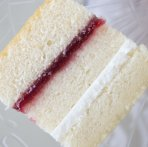 "6"" Square Vanilla Sponge Cake (No Filling) Please Allow 1 Extra Working Day For Delivery"