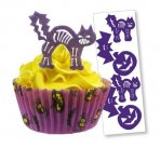 Spooky Halloween Edible Wafer Topper