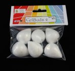 Celbuds 4 Poly Buds 28mm Pack of 6
