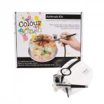 Colour Splash Airbrush Kit with UK Plug