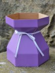 Purple Cupcakes Bouquet Box & Tray - Lilac