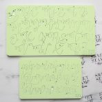 SWEET STAMP - Curly Font Full Set Cake Decorating Embossers