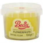 Daffodil Yellow Flower Paste by Beau Products - 100g