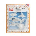 FMM Fluffy Cloud Cutters - 5 Piece