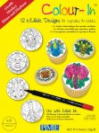 PME Colour-In Safari Animals Cupcake and Cookie Toppers