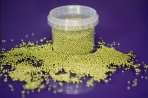 Purple Cupcakes Sprinkles: Gold 2mm 100g
