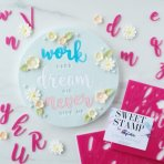 SWEET STAMP - Handwritten Set Uppercase and Lowercase