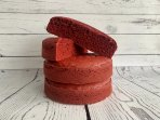 Red Velvet Sponge Cake Baked to Order - Choose Your Size and Shape!