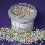 Purple Cupcakes Non Pareils - Shimmer Multi Colour 100g