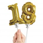 SELF INFLATING Balloon Number Cake Toppers - Choose Your Number!