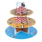 Culpitt Pirate Theme Disposable Cupcake Stand