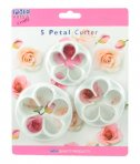 PME 5 Petal Cutter (Set Of Three)