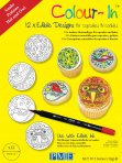 PME Colour-In Wizards and Witches Cupcake and Cookie Toppers
