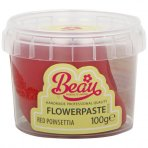 Poinsettia Red Flower Paste by Beau Products - 100g