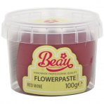 Red Wine Flower Paste by Beau Products - 100g
