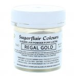 Sugarflair Lustre Dust Regal Gold 25g