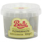Silver Celebration Flower Paste by Beau Products - 100g