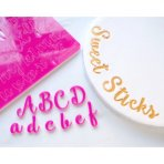 SWEET STAMP - Sweet Sticks Edition Embossing Lettering Stamps