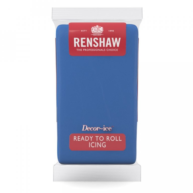 Renshaw 1kg Ready to Roll Fondant Icing - Atlantic Blue