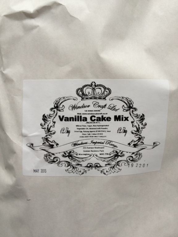 Bulk 12.5 Kg Windsor Imperial Vanilla Cake Mix