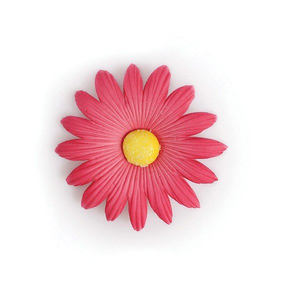 Gum Paste Pink Daisy 53mm Pack of 50