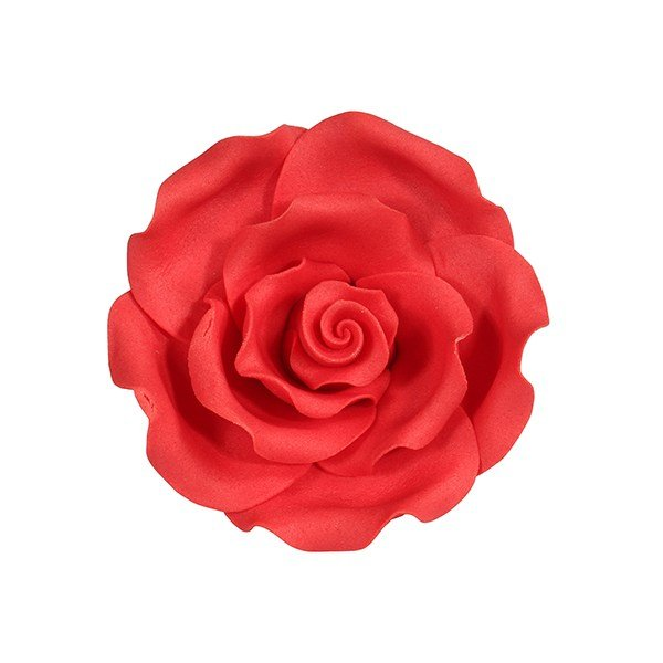 Soft Sugar Roses - Strawberry - 63mm (Pack of 8)