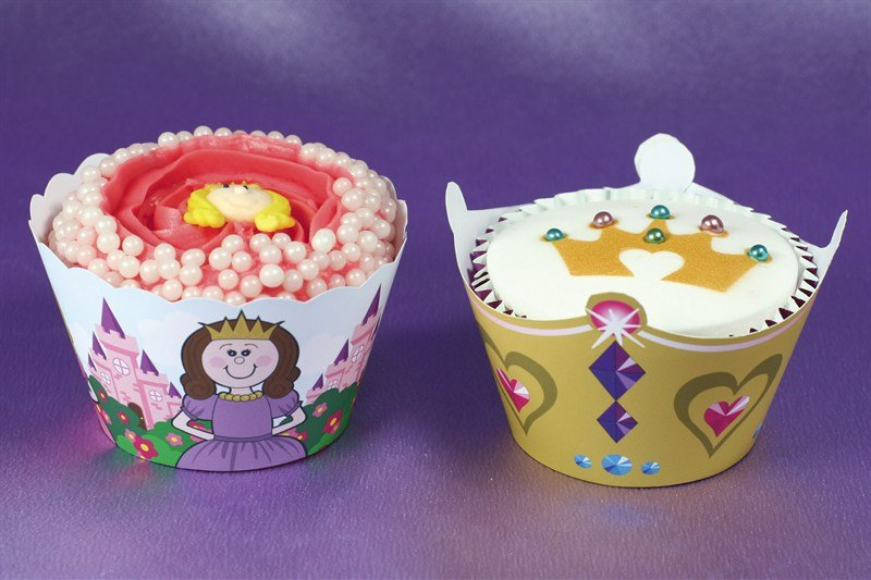 Little Princess Cupcake Wraps