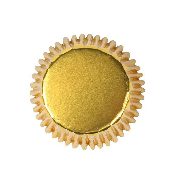 Gold Bulk Cupcake Cases 50mm Pack of 495