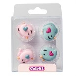 Lovebirds Sugar Pipings Pack of 12