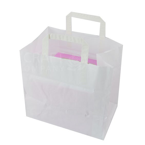 Medium Paper Carrier Bag - For 4 Hole Boxes