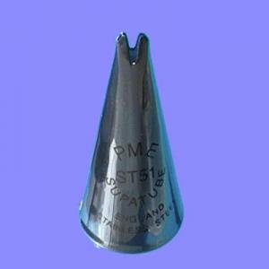 PME Supatube Leaf Piping Nozzle Tip 51 Medium Leaf - ST51