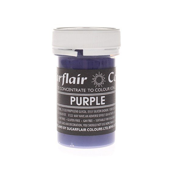 Sugarflair Paste Colours - Pastel Purple