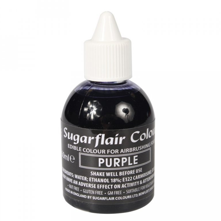 Sugarflair Airbrush Colour - Purple 60ml