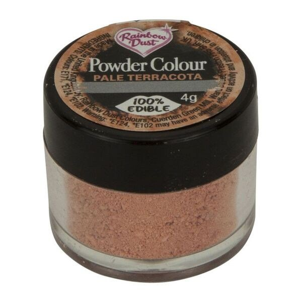 Rainbow Dust Powder Colour - Pale Terracotta