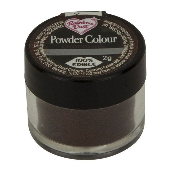 Rainbow Dust Powder Colour - Chocolate