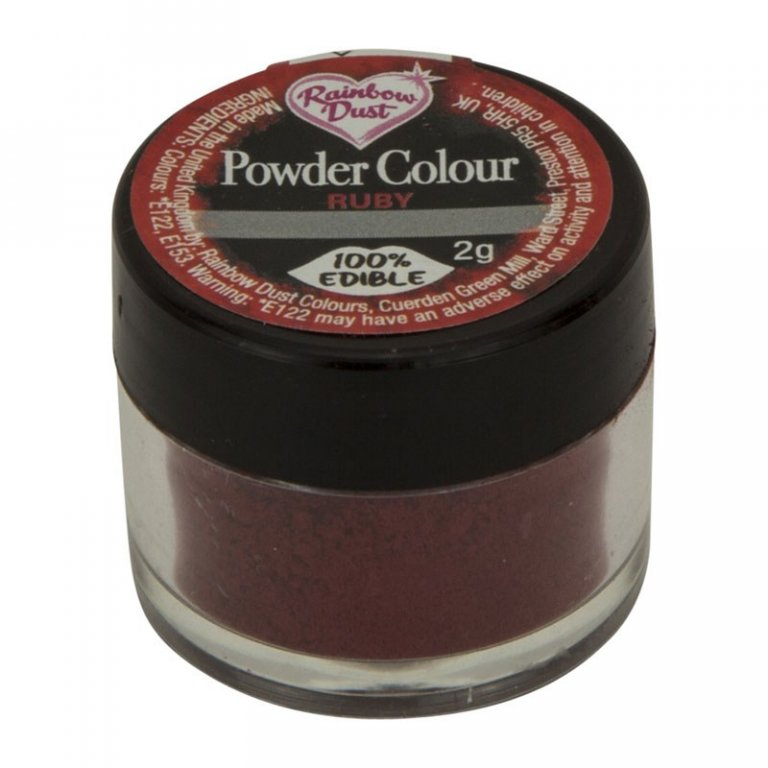 Rainbow Dust Powder Colour - Ruby