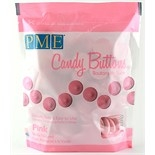 PME Candy Buttons Vanilla Pink 340g
