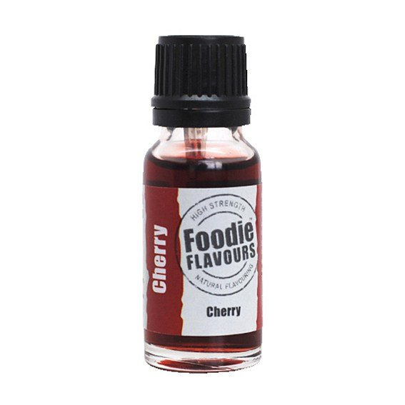 Foodie Flavours Cherry Natural Flavouring 15ml