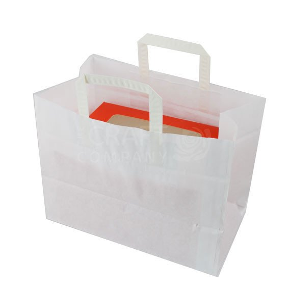 Large Paper Carrier Bag - For 6 Hole Boxes