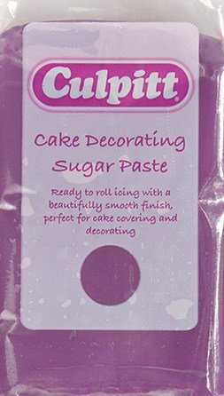 Culpitt Cake Decorating Sugar Paste Icing Purple 250g
