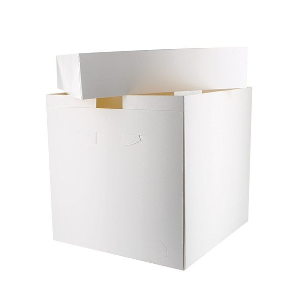 "Pack of 25 14x14x12"" Tall Cake Boxes"