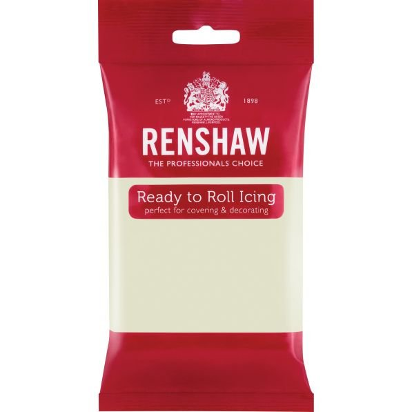 Renshaw 250g White Ready to Roll Fondant Icing
