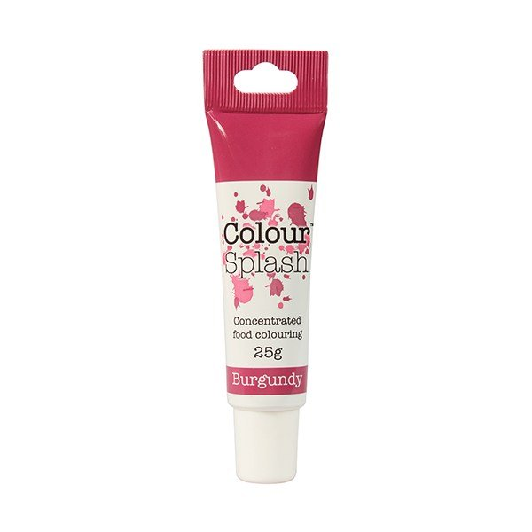 Food Colouring Gel by Colour Splash - Burgundy