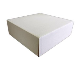 "Bulk Pack of 25 - Corrugated Cake Boxes 10""x10""x6"""