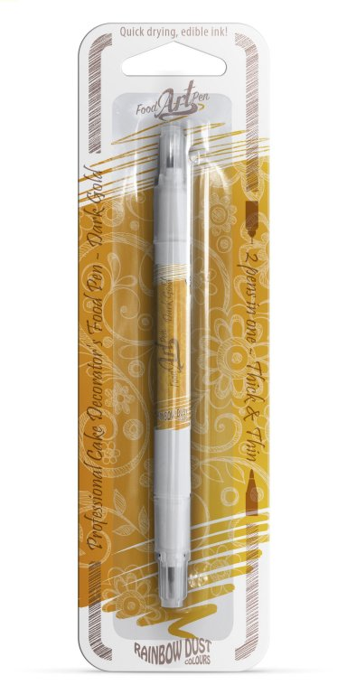 Rainbow Dust Dark Gold Edible Ink Pen