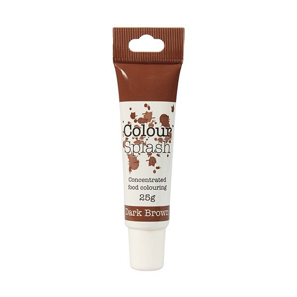 Food Colouring Gel by Colour Splash - Dark Brown