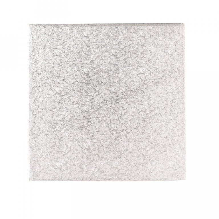 13'' Hardboard Square Turn Edge Cards Silver Fern (3mm thick)